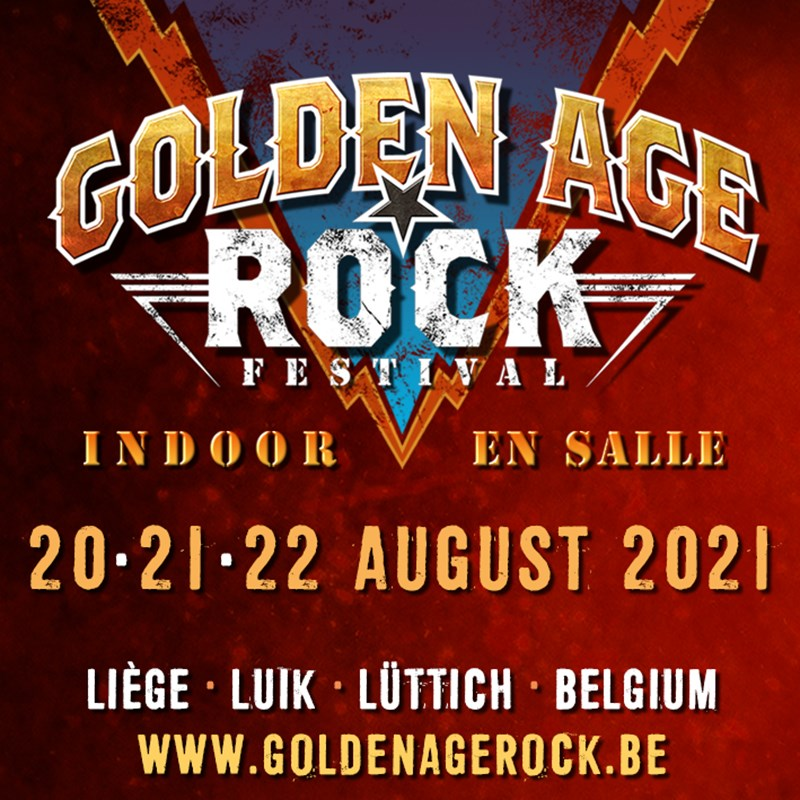 Golden age rock festival 2021